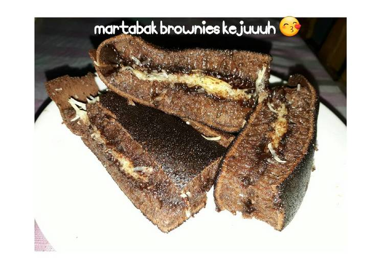 Martabak Brownies Keju