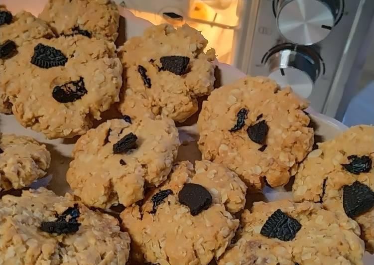 Oatmeal Kismis Cookies