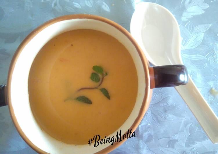 Mixed vegetables barley soup