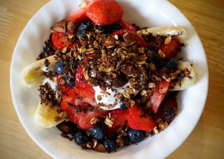 Simple Way to Make Award-winning Breakfast Banana Split