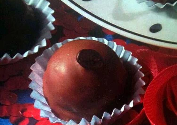 Old Fashioned Dinner Easy Favorite Mocca Praline Balls (Zante)