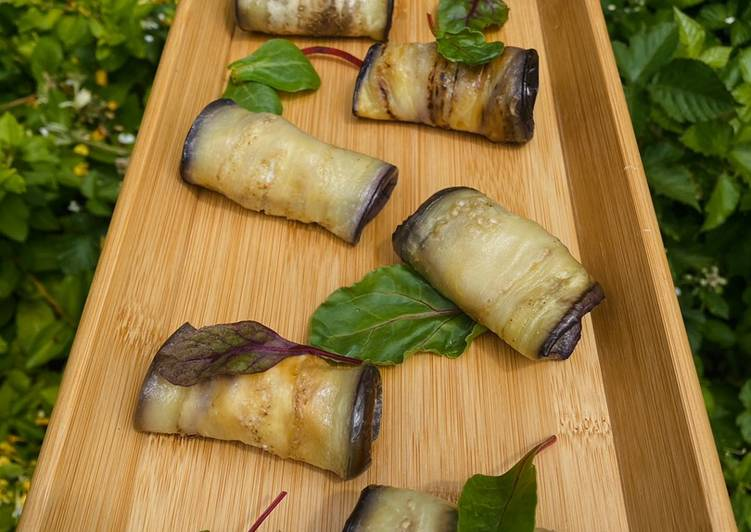 Recipe of Award-winning Aubergine rolls