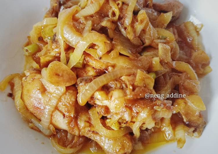 Ayam Goreng Mentega Simple (tanpa Kecap Inggris)