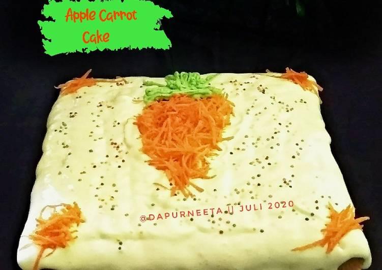 Apple Carrot Cake
