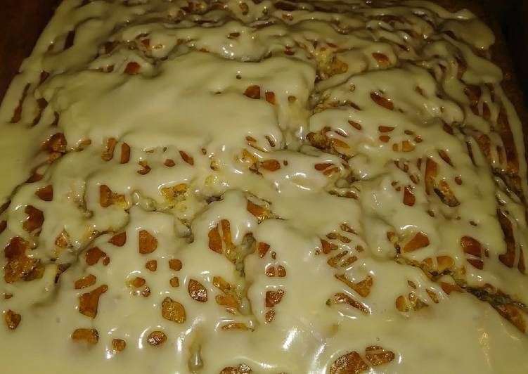 Maple Walnut Strudel Coffee Cake