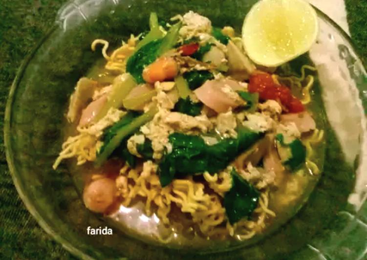Cara Memasak Mie Titi khas Makassar ekonomis untuk dijual