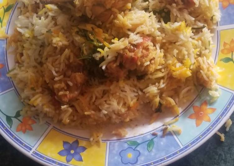 Recipe: Delicious Chicken biryani