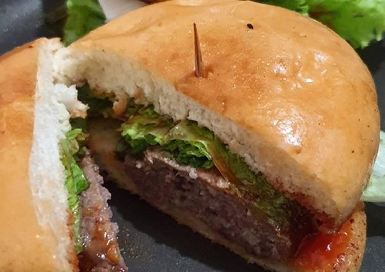 Burger Sapi Sederhana