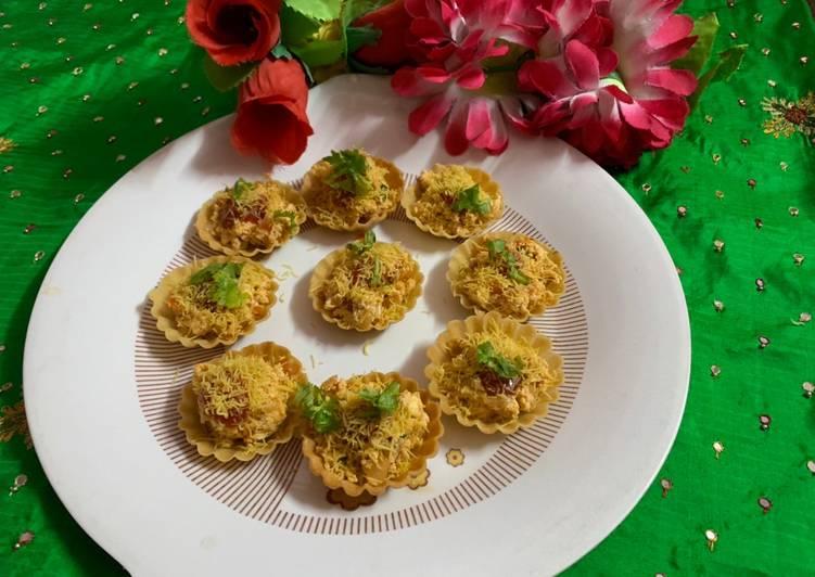 15 Minute Recipe of Ultimate Paneer Katori chaat