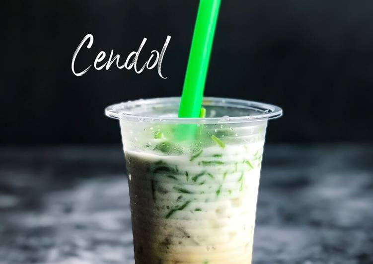 Cendol Santan Gula Melaka #maratonraya #minuman #minggu2 - resepipouler.com