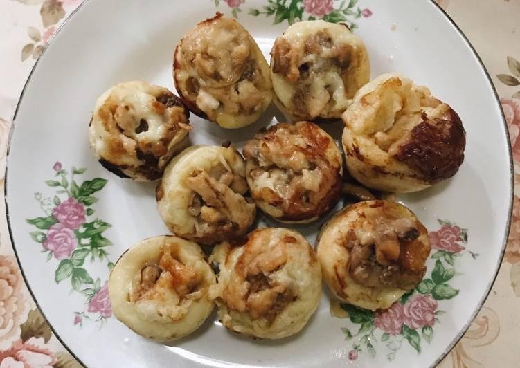 Takoyaki Ayam Jamur