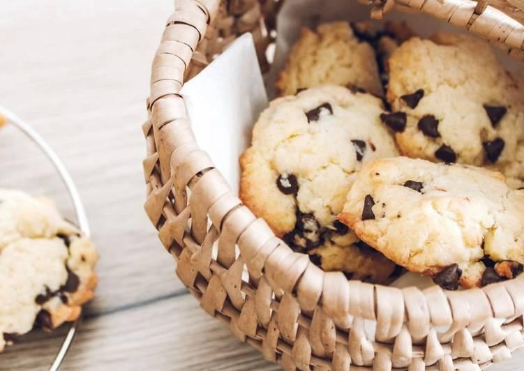 Recette Savoureux Cookies noix de coco/chocolat