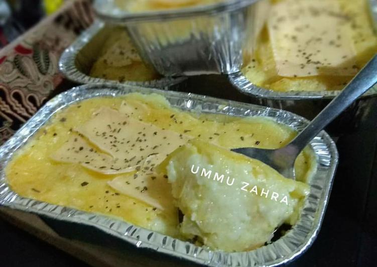 Macaroni schotel panggang (Super Cheesy)