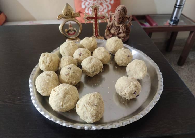 Recipe of Most Popular Mixed flour ladoo