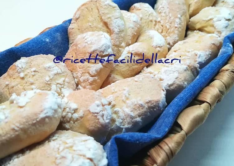 Ricetta Biscotti morbidi con yogurt greco al profumo di arancia 🍊