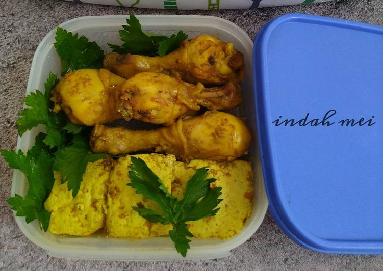 Ayam + Tahu Bumbu Ungkep (frozen food)