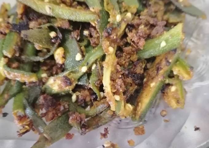 Recipe of Heston Blumenthal Bhindi masala