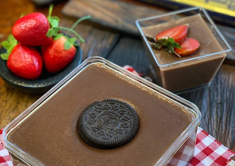 Puding Oreo Chocolate ala Tiger Kitchen