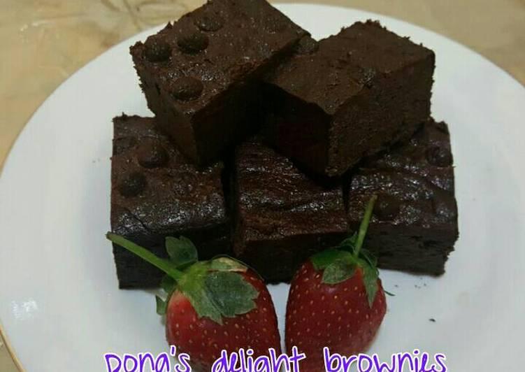 Resep Dona S Delight Browniez Oleh Lyta Cookpad