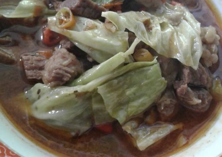 Tongseng daging sapi - cookandrecipe.com