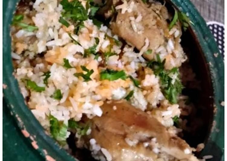 Handi Chicken Biryani