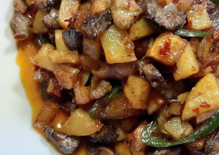 Resep Sambal goreng kentang ati ampla yang Bisa Manjain…