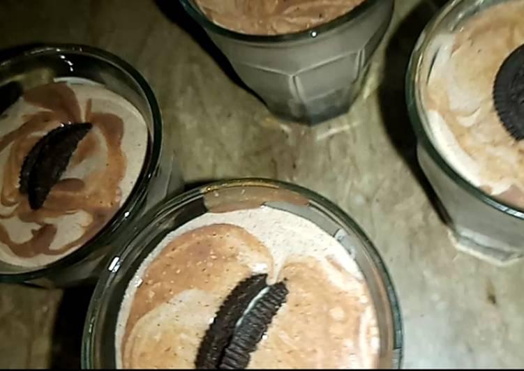 Oreo smoothie 🍫