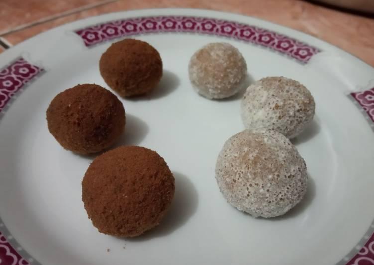 Bola2 Coklat & Susu Jahe