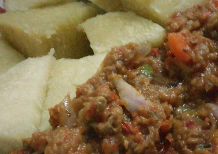 Buttery Meat sauce