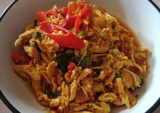 Suwir Ayam simple utk Diet