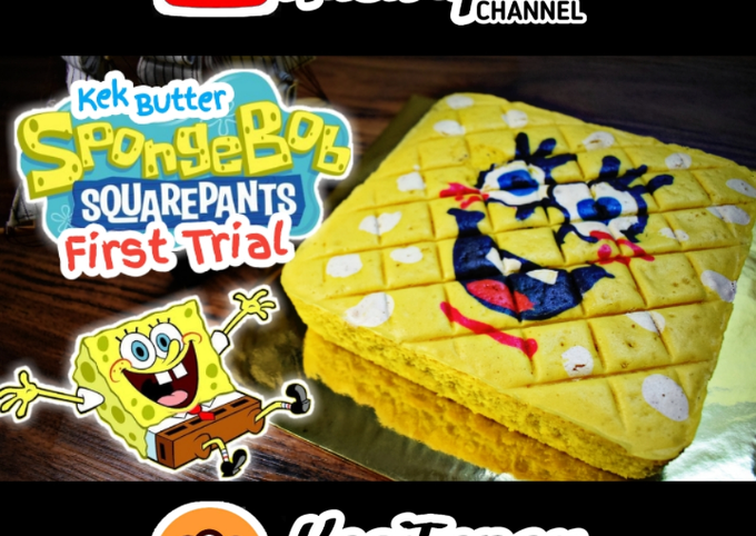 Kek Butter SpongeBob Squarepants Jelita