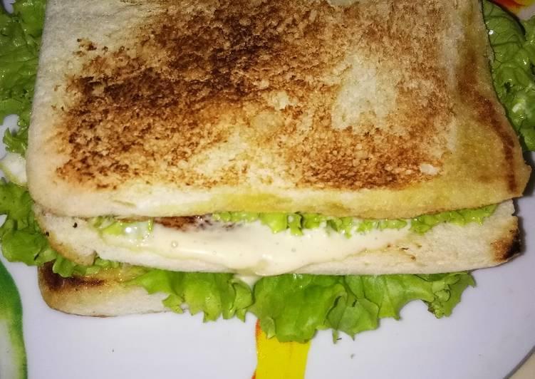 Sandwich sederhana #MasakanRumahan