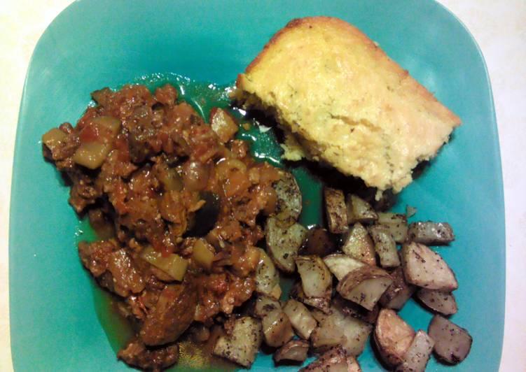Brenda's Beef (or Pork) Vegetable Stew