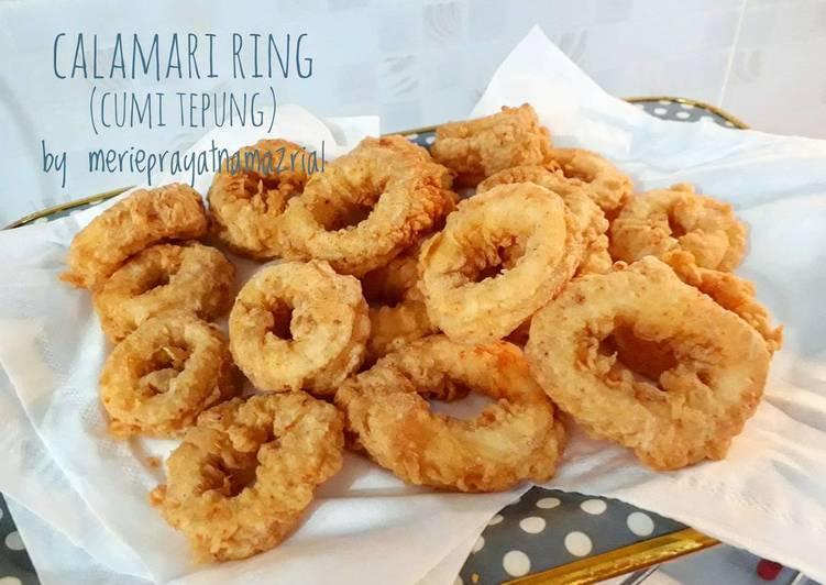 Resep Cumi Goreng Tepung Calamari Ring Oleh Merie Prayatna Mazrial Cookpad