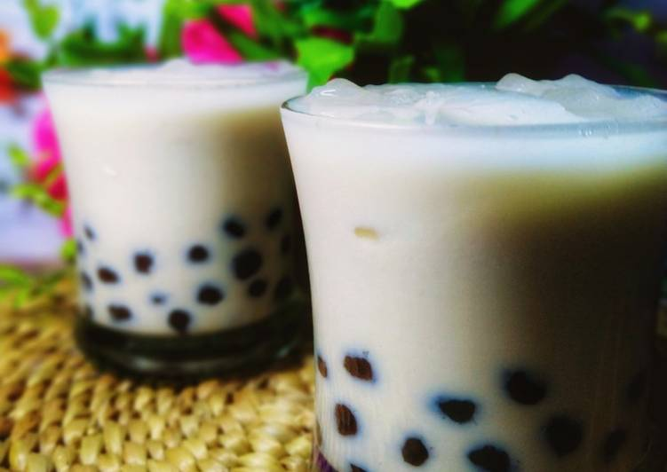 Bagaimana Menyajikan Milk Tea Bubble ala Chatime Cepat
