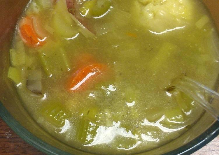 Chicken Matzah Ball Soup