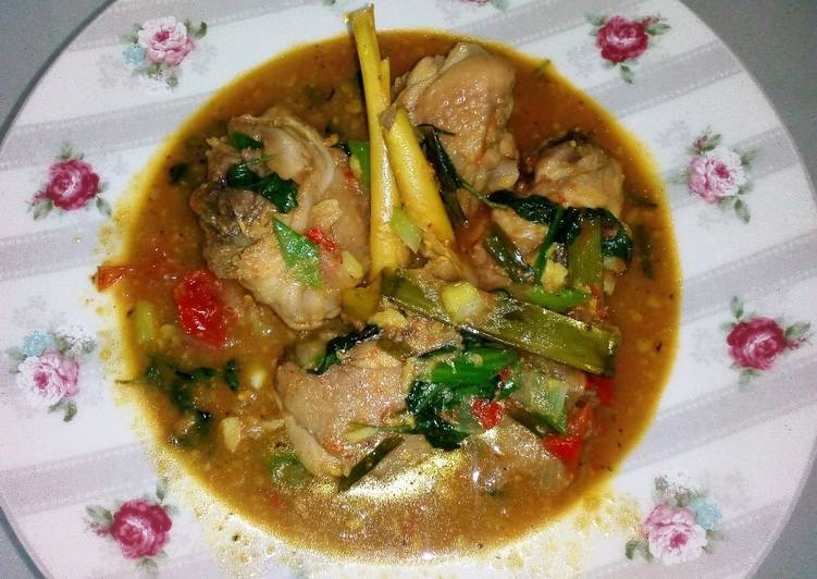 Resep 238.Ayam woku