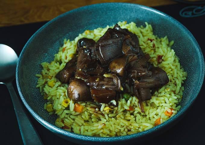 Recipe of Favorite Vegan mushroom Bourguignon