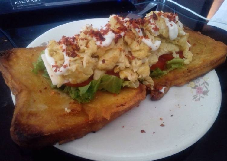 Resep Simple Open Sandwich Oleh Rita Herianti Rukmana Cookpad