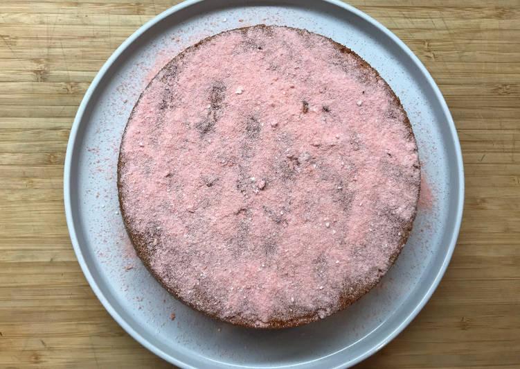 Fondant aux Biscuits roses de Reims