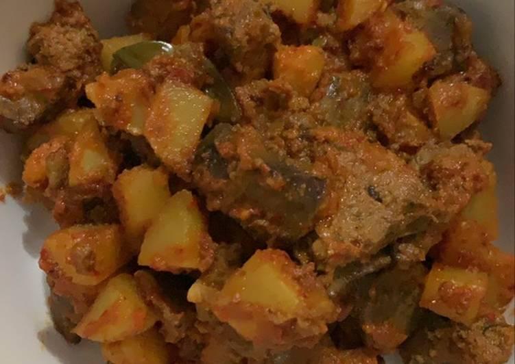 Sambal goreng ati kentang (plus santan)