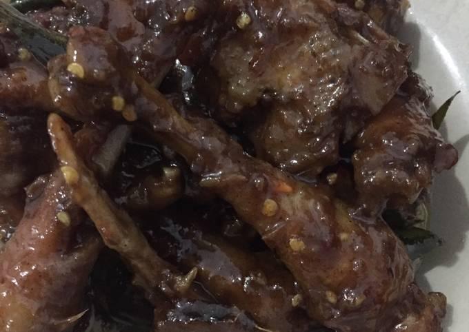 Cara membuat Rica ayam kecap Sederhana dan Mudah Dibuat