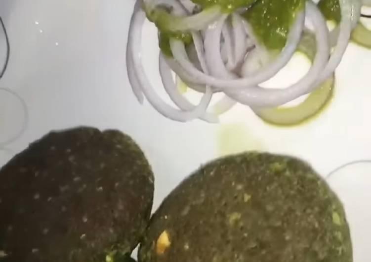 Chole Palak Kebab