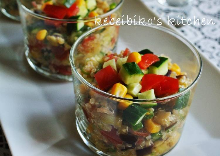 Permalink to Japanese Tabbouleh with Mixed Grains Recipe