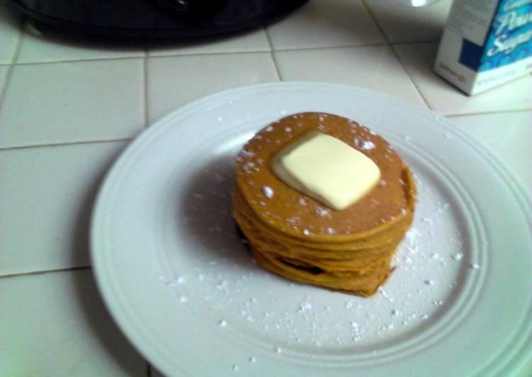 Willies Vanilla Pumpkin Pancakes