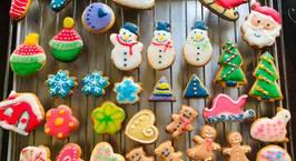 Hình ảnh món Bánh quy vẽ đường icing