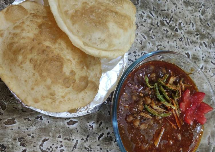 Spicy Chole bhature - Laurie G Edwards