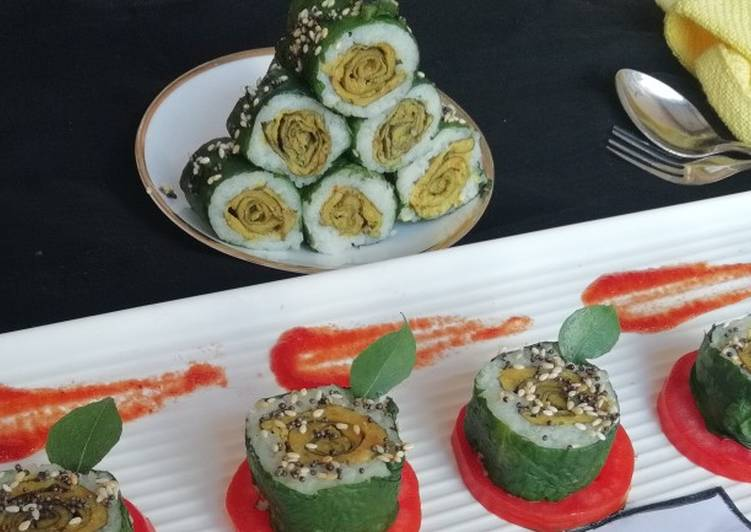 How to Make Delicious Patra sushi roll