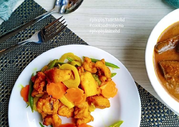 Ayam Goreng Kunyit sempoi #phopbylinimohd #batch21 - velavinkabakery.com