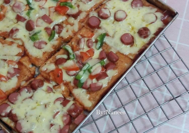Cara Mudah Masak: Pizza Roti  Terbaru
